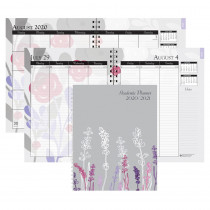 "Monthly and Weekly Academic Calendar Planner, Wild Flower, July-August, 7 x 9"" - HOD295474 