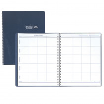 HOD51007 - Weekly Lesson Planner Blue Simulated Leather Cover in Plan & Record Books