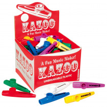 HOHKC50 - Kazoo Classpack Pack Of 50 Assorted Colors in Instruments
