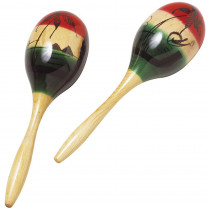 HOHS310 - Wood Maracas 2/Pk in Instruments