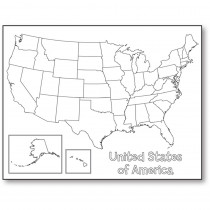 HYG30147 - United States Map Poster in Social Studies