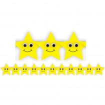 HYG33653 - Happy Yellow Stars Die Cut Border in Border/trimmer
