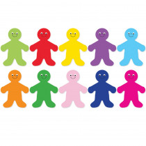 HYG33706 - Die Cut Accents 7In Rainbow People in Accents