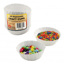 HYG36725 - Craft Cups 25 Cups in Containers