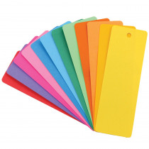 HYG42610 - Bookmarks 2 X 6 Asstd Colors 100 in Bookmarks