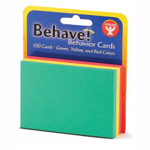HYG43525 - Behavior Cards 3X5 100Pk Assorted in Classroom Management