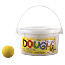 HYG48304 - Dazzlin Dough Yellow 3 Lb Tub in Dough & Dough Tools