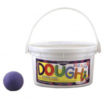 HYG48305 - Dazzlin Dough Purple 3 Lb Tub in Dough & Dough Tools