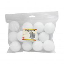 HYG51102 - Styrofoam 2In Balls Pack Of 12 in Styrofoam