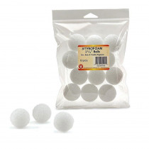 HYG51115 - Styrofoam 1 1/2In Balls Pack Of 12 in Styrofoam