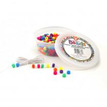 HYG6832 - Neon Barrel Beads in Beads