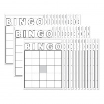 HYG87130 - Blank Bingo Cards White in Bingo