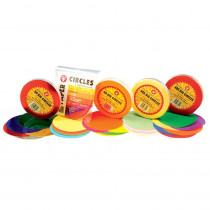 HYG88155 - Tissue Paper 480Ct 5In Circles Primary Colors in Tissue Paper