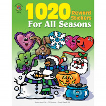 IF-4110 - Sticker Book For All Seasons 1020Pk in Holiday/seasonal