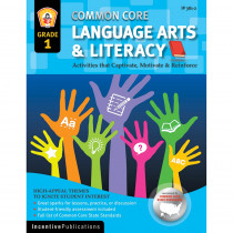 IP-3812 - Language Arts & Literacy Gr 1 Common Core Reinforcement Act in Activities