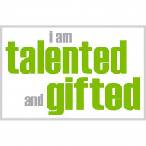 ISM0003P - I Am Talented And Gifted Poster in Inspirational