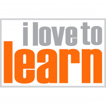 ISM0005P - I Love To Learn Poster in Inspirational