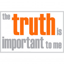 ISM0011P - The Truth Is Important Poster in Inspirational