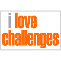 ISM0025M - I Love Challenges Magnet in Accessories