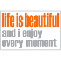 ISM0028M - Life Is Beautiful Magnet in Accessories