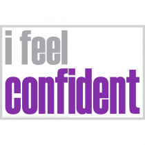 ISM0029P - I Feel Confident Poster in Inspirational