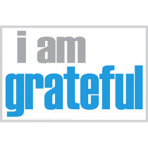 ISM0030P - I Am Grateful Poster in Inspirational