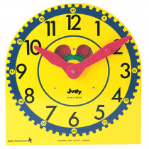 J-209040 - Original Judy Clock 12-3/4 X 13-1/2 Wood W/ Standard in Time