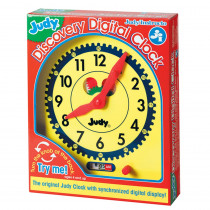 J-34001 - Judy Discovery Digital Clock in Time