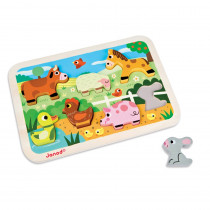 JND07055 - Farm Chunky Puzzle in Wooden Puzzles