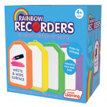 JRL149 - Rainbow Recorders Set Of 4 in Instruments