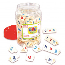 JRL176 - Tri Blocks Cvc Tub Set Of 90 in Phonics