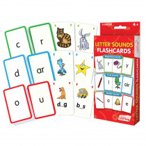 JRL202 - Letter Sounds Flash Cards in Letter Recognition