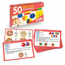 JRL331 - 50 Fraction Activities in Fractions & Decimals