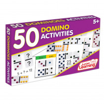 JRL339 - 50 Dominoes Activities in Dominoes