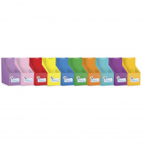 JRL429 - First Words Dominoes Banded Readers in Organizer Pockets