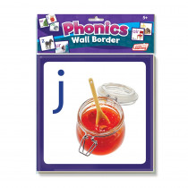 JRL462 - Wall Borders Phonics in Border/trimmer