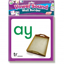 JRL464 - Wall Borders Vowel Sounds in Border/trimmer