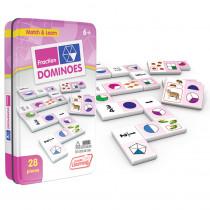 JRL485 - Fractions Dominoes in Dominoes