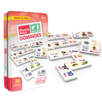 JRL490 - Rhyming Words Dominoes in Dominoes
