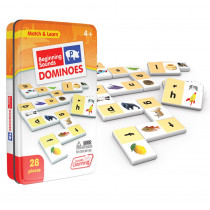 JRL492 - Beginning Sounds Dominoes in Dominoes