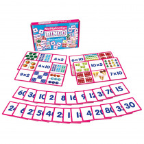 JRL550 - Multiplication Bingo Banded in Bingo