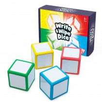 Write & Wipe Dice - JRL617 | Junior Learning | Dice