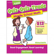 KA-BQQMM2 - Quiz-Quiz-Trade Math Lv 2 Middle School in Activity Books