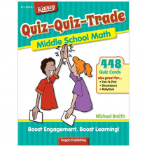 KA-BQQMM3 - Quiz-Quiz-Trade Math Lv 3 Middle School in Activity Books