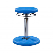 KD-2113 - Blue Grow With Me Kid Wobble Chair Adjustable in Chairs