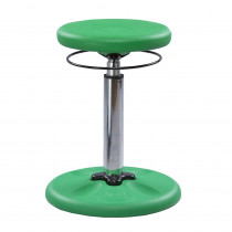 KD-2115 - Green Grow With Me Kid Wobble Chair Adjustable in Chairs