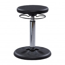 KD-2560 - Black Grow With Me Kid Wobble Chair Adjustable in Chairs