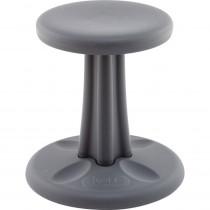 KD-590 - Kids Kore Dark Grey 14In Wobble Chair in Chairs