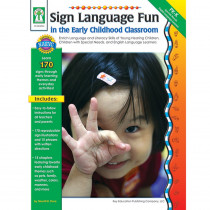 KE-804034 - Sign Language Fun In The Early Childhood Classroom in Sign Language
