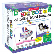 KE-840016 - Big Box Of Little Word Puzzles in Language Arts
